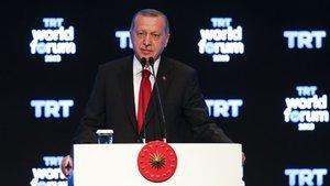 Erdoğan: Terörle masaya oturmadık, oturmayız, oturmayacağız