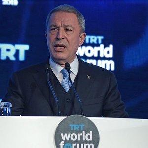 Bakan Akar, TRT World Forum'da dikkat çekici açıklamalar yaptı