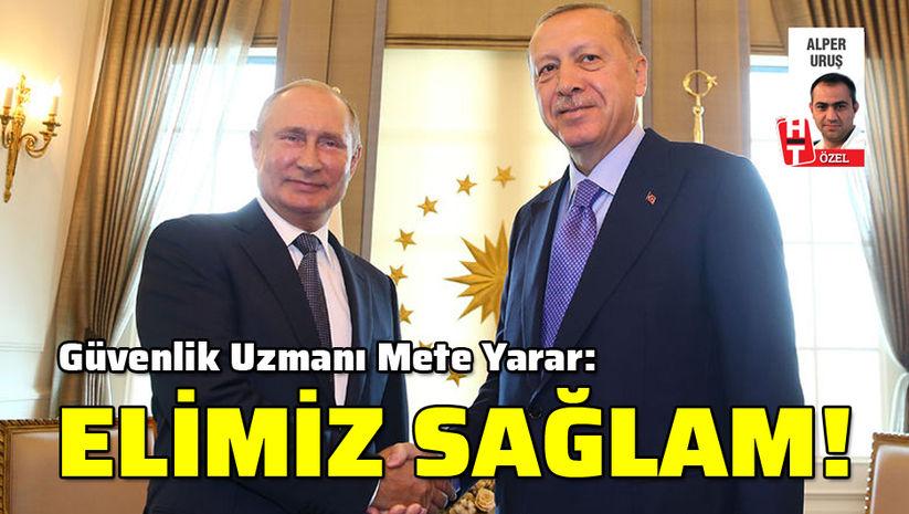 """""""Türkiye'nin eli sağlam! Adana Mutabakatı! Soçi'de ne olacak?"""""""