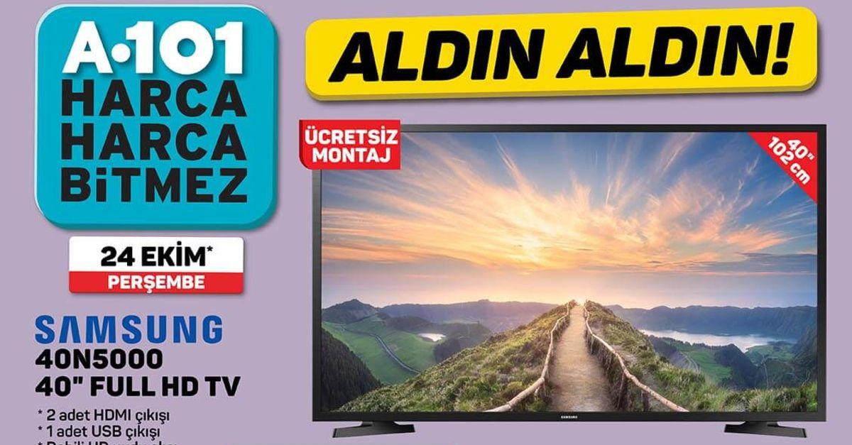A101 24 Ekim Aktüel ürünler kataloğu 2019!