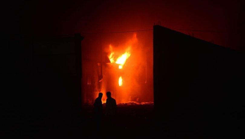 adana fabrika yangını