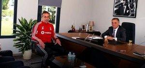 Ahmet Nur Çebi, Abdullah Avcı'yla görüştü