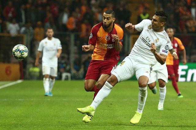 Belhanda krizi! Silah işareti yaptı! Galatasaray - Real Madrid maçı