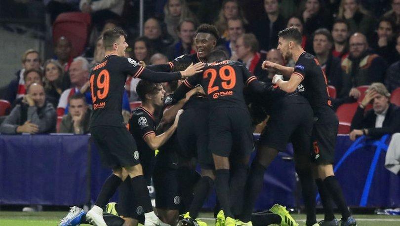 Chelsea, Ajax'ı deplasmanda yıktı