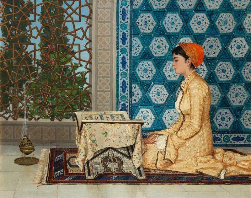 Kur'an Okuyan Kız