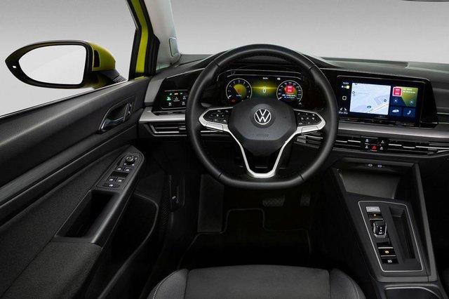 Yeni Volkswagen Golf'ün fotoğrafları ortaya çıktı! İşte yeni Volkswagen Golf