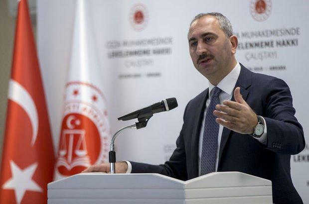 Bakan Gül'den yargı reformu mesajı