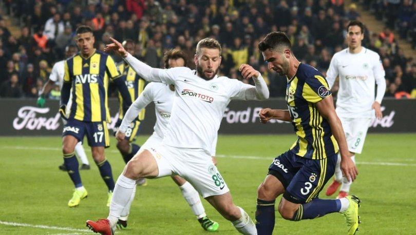 Fenerbahçe ile Konyaspor