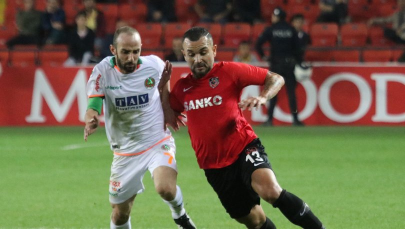 Gaziantep FK: 1 - Alanyaspor: 1