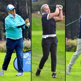 Golf tutkunları bir arada...