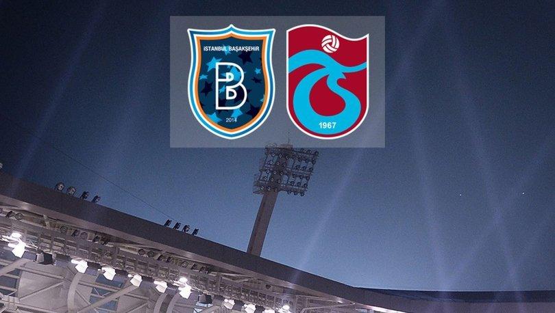 Başakşehir Trabzonspor maçı