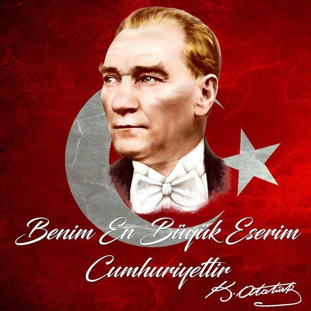 Ünlülerin 29 Ekim Cumhuriyet Bayramı paylaşımları - Magazin haberleri