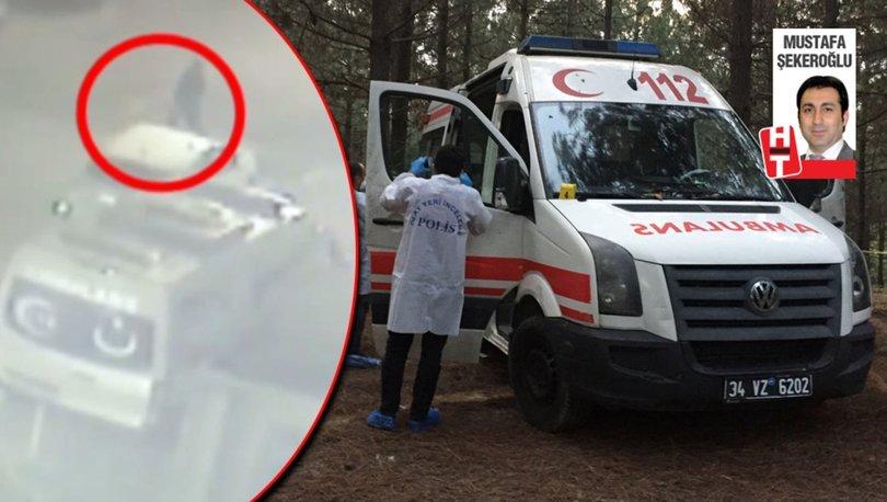 Ambulansı böyle çalmış! Çalınma anına ait görüntüler ortaya çıktı