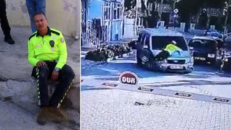 polisten inanılmaz takip