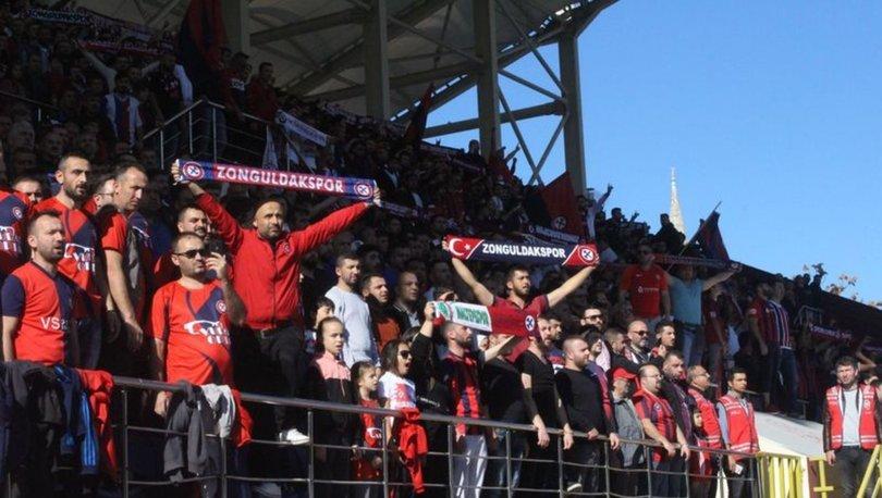 10 bin taraftar Zonguldak Kömürspor'a Samsunspor karşısında destek verdi