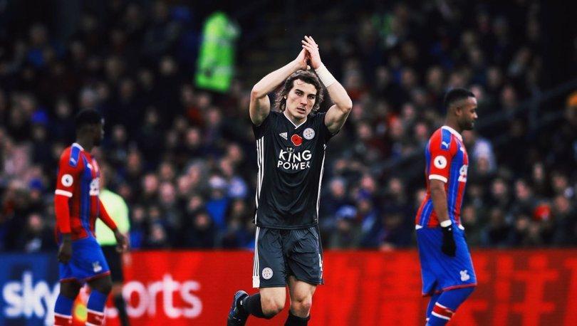 Çağlar Söyüncü gol attı, İngiltere sallandı! Leicester City'yi Crystal Palace karşısında öne geçirdi