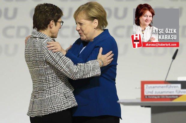 Merkel ile halefine erkek hücumu