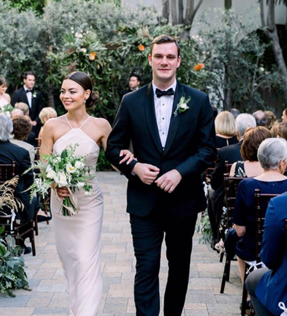 Cooper Hefner ile Scarlett Byrne evlendi - Magazin haberleri