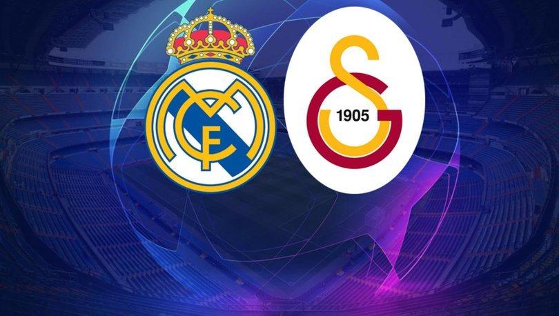 Galatasaray Real Madrid maçı saat kaçta hangi kanalda?