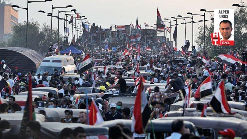 Irak'ta protesto