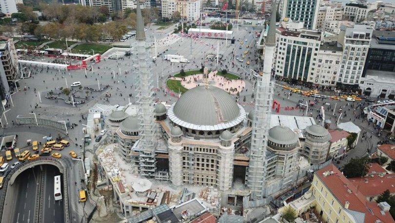 Taksim Camii inşaatında son durum - Haberler