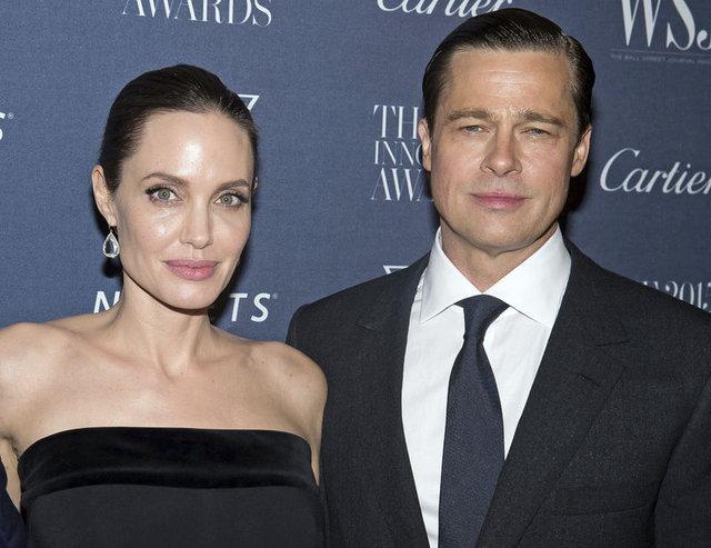 Angelina Jolie'den Brad Pitt'e çıplak protesto! - Magazin haberleri