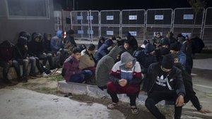 Edirne'de 448 kaçak göçmen yakalandı