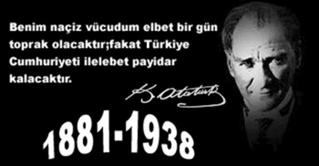10 Kasım şiirleri ve sözleri! En güzel 10 Kasım mesajları ve sözleri paylaşın... Atatürk'ü Anma Günü