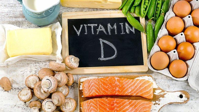 D vitamini hangi besinlerde bulunur? D vitamini nedir?