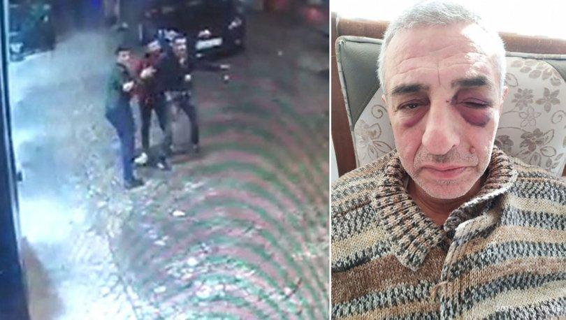 yaşlı adama şiddet