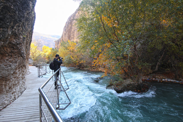 Doğa tutkunlarının uğrak yeri Tohma Kanyonu