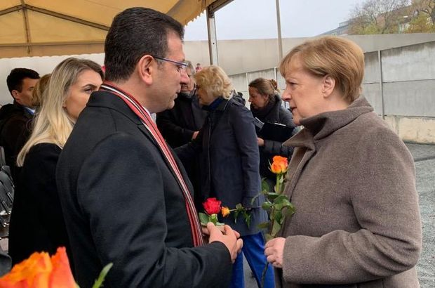 İmamoğlu'ndan Merkel'e davet