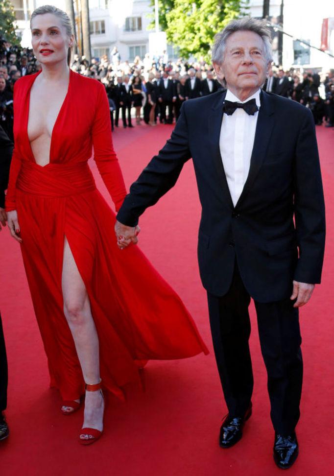 Roman Polanski, oyuncu Emmanuelle Seigner'la evli.