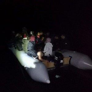 Muğla'da 21 kaçak göçmen yakalandı