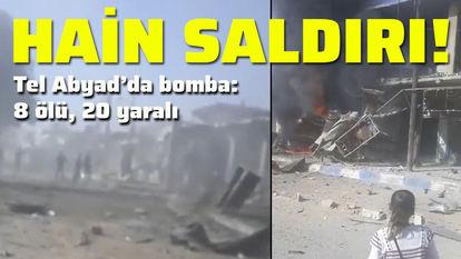 Tel Abyad bombalı saldırı