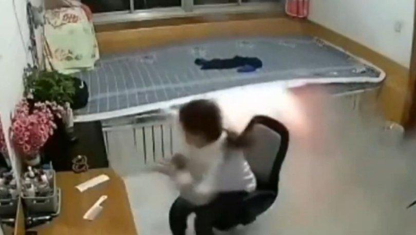 Çin'de ısıtmalı yatak kazası
