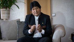 Evo Morales'ten 'darbe' açıklaması