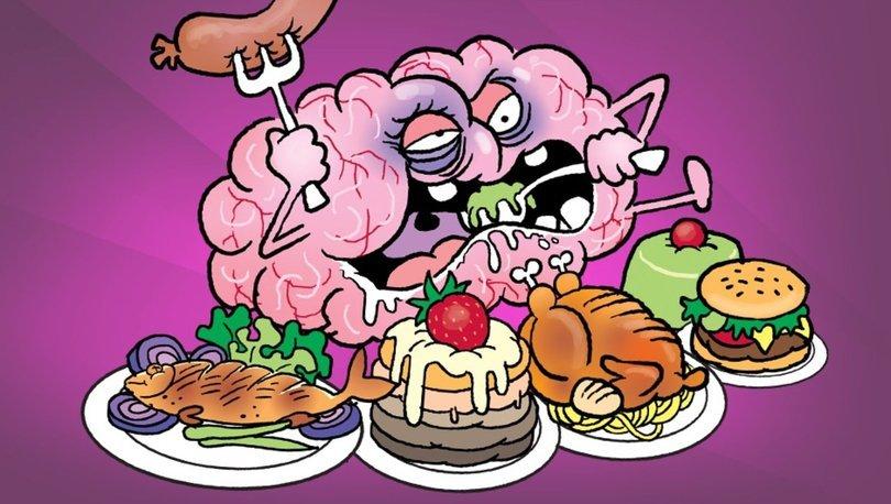 Aç olan mide değil beyin olabilir!