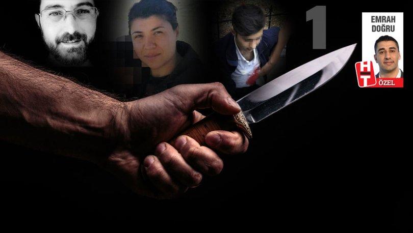 Bıçak kemiğe dayandı