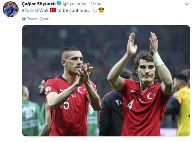 Milli futbolcuların EURO 2020 paylaşımları! Türkiye İzlanda maçının ardından...
