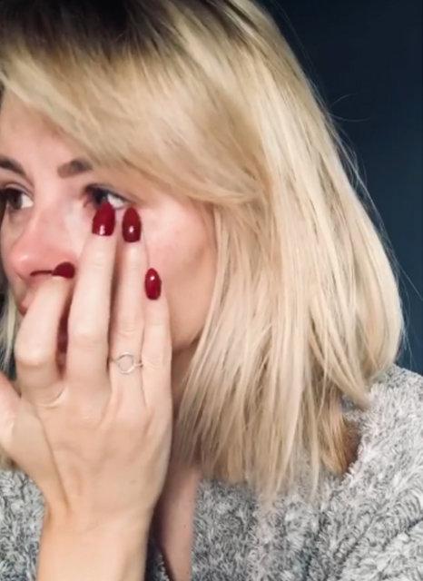Rhian Sugden, paylaştığı videoda göz yaşlarını tutamadı - Magazin haberleri