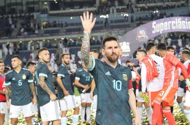 Brezilya'yı Messi yıktı