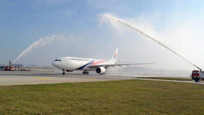 Sabiha Gökçen Havalimanı Malezya Hava Yolları uçağı