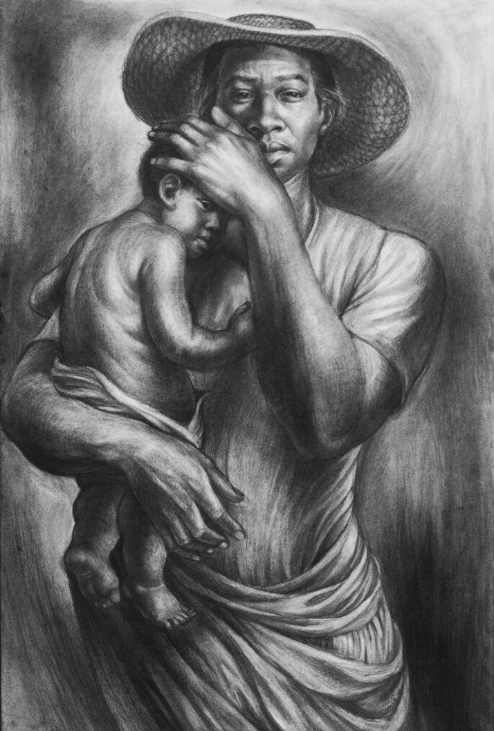 Charles White-'Ye Shall Inherit the Earth (1953)'