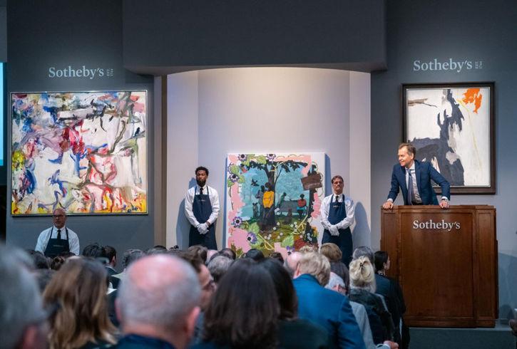 Sotheby's müzayedesi-Kasım 2019