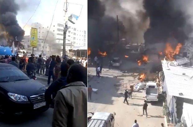 El Bab'da bombalı araç saldırısı: 18 sivil öldü
