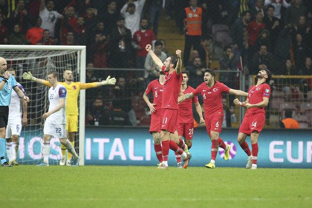 UEFA'dan Milli Takım analizi! Şenol Güneş, Merih Demiral, Cenk Tosun...