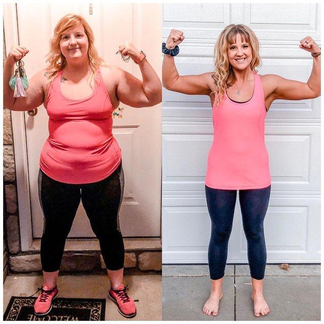 1 yılda 46 kilo verdi! Değişimi dudak uçuklattı - Haberler