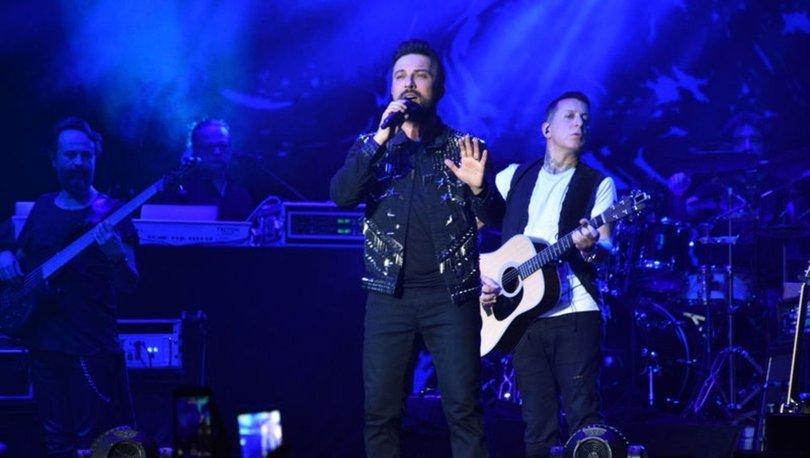 Şarkıcı Tarkan, Avusturya'nın başkenti Viyana'da konser verdi
