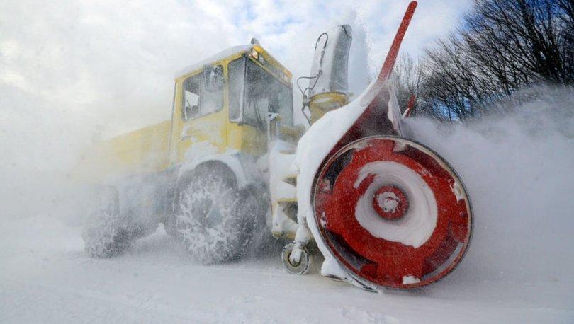 Karla mücadele için hazırlıklar tamamlandı